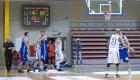 Mecz I ligi PZKosz pomiędzy KSK Noteć Inowrocław a Legią Warszawa. W hali OSIR na Bemowie Legia wygrała 116:68, dn. 06.02.2016.